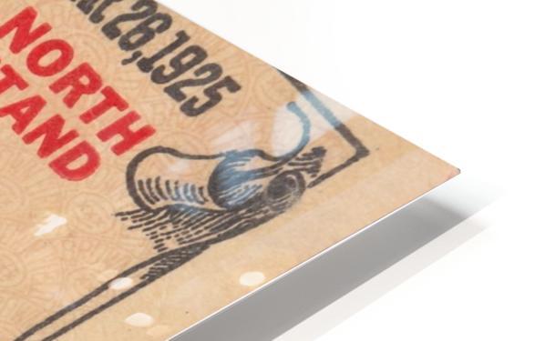 1925 Brown vs. Colgate HD Sublimation Metal print