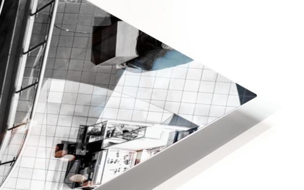 Fibonacci stairs HD Sublimation Metal print