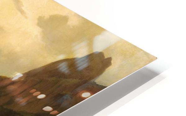 Alpiner Berggipfel HD Sublimation Metal print