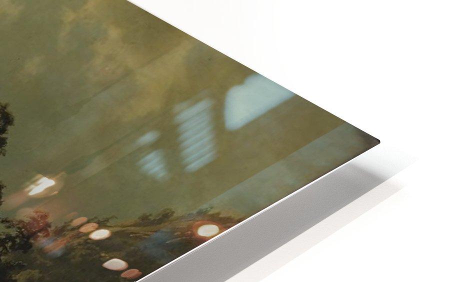 An einem Bergsee HD Sublimation Metal print