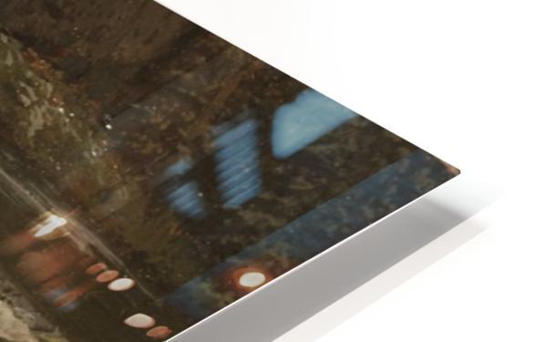 Landscape on a river HD Sublimation Metal print
