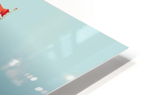 Imbarcazione Volante Dommo HD Sublimation Metal print
