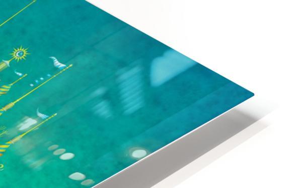 Castellini Elephantini Azure HD Sublimation Metal print