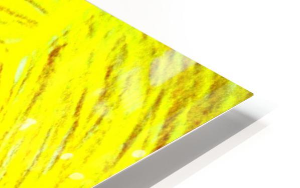 yellowgirl1 HD Sublimation Metal print