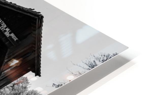 Watson Mill Bridge State Park   Comer GA 06587 HD Sublimation Metal print