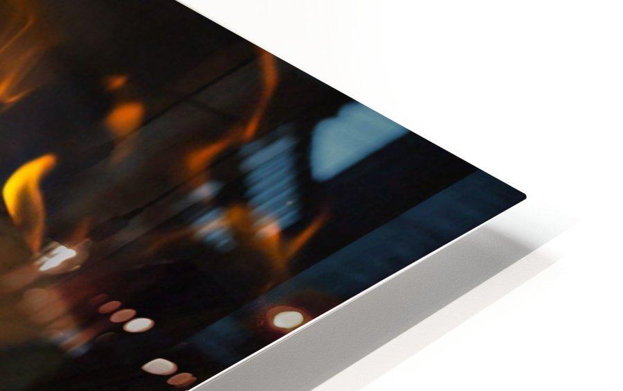 fire HD Sublimation Metal print