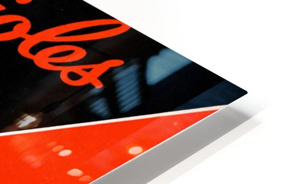Row One Retro Remix Baltimore Orioles Press Guide HD Sublimation Metal print