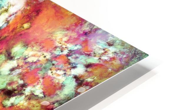 Cascading time HD Sublimation Metal print