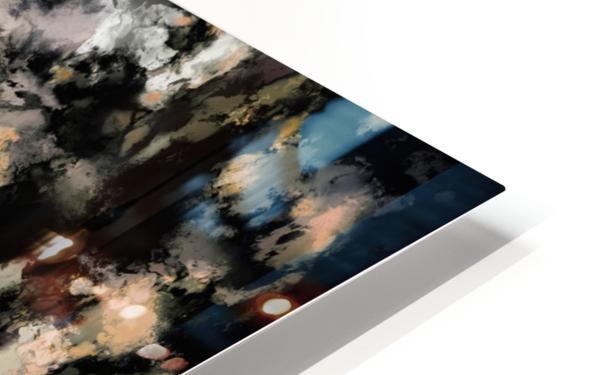 Crust HD Sublimation Metal print
