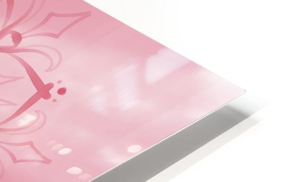 pink mandala HD Sublimation Metal print