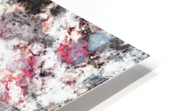 Frosty pink Impression de sublimation métal HD