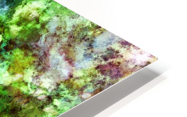Green scene HD Sublimation Metal print