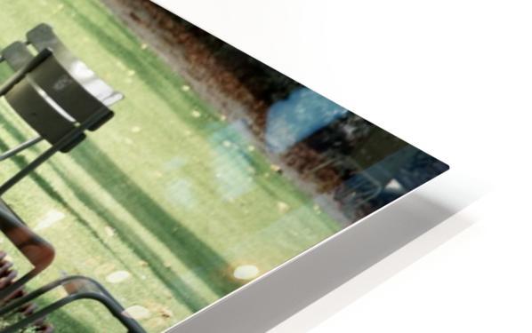 Chaises du Luxembourg   2 HD Sublimation Metal print