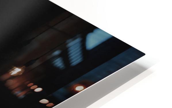 Beautifully White B&W HD Sublimation Metal print