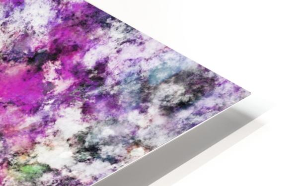 Reflecting the purple water HD Sublimation Metal print