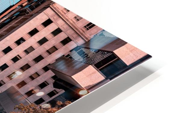 San Francisco City Scene HD Sublimation Metal print