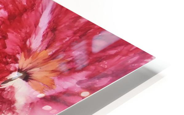 Poppies Galore HD Sublimation Metal print