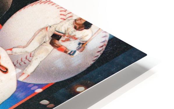 1986 Baltimore Orioles Media Guide Canvas HD Sublimation Metal print