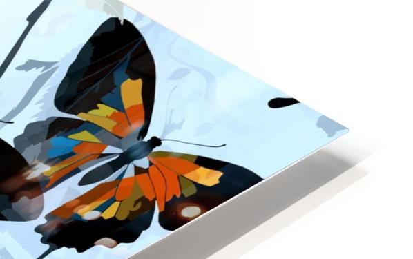 Seamless Butterflies Pattern  HD Sublimation Metal print