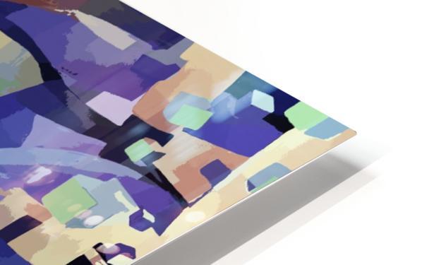Seamless Geometric Vivid Abstract HD Sublimation Metal print