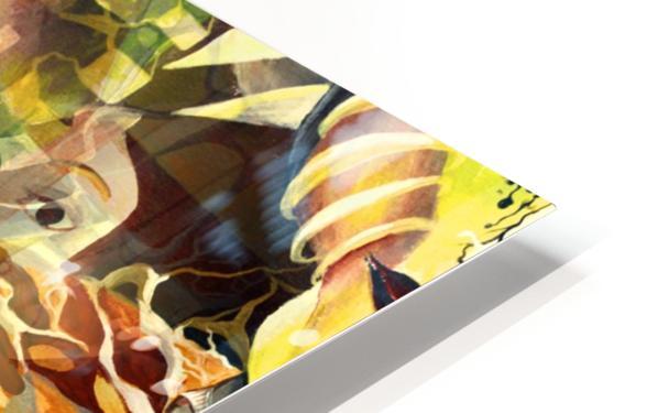 Pop Currealism Magical Utopia HD Sublimation Metal print