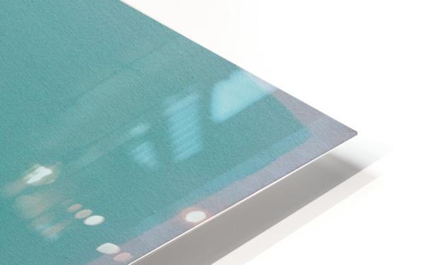 Arctic Sea HD Sublimation Metal print