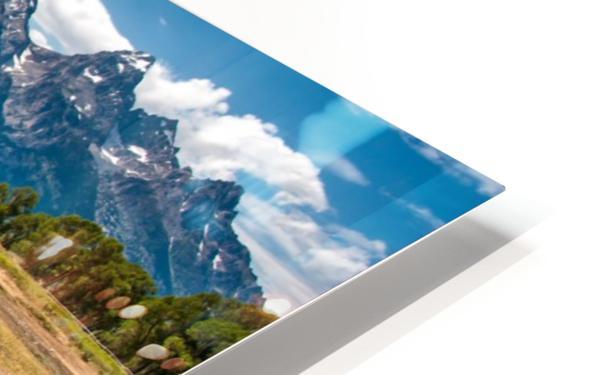 T.a. Moulton Barn - Grand Teton HD Sublimation Metal print