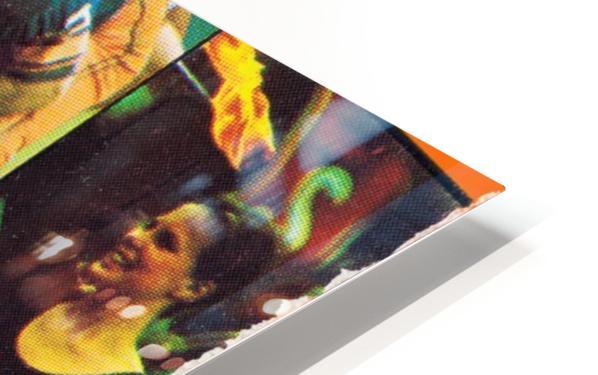 Vintage Syracuse Ticket Art HD Sublimation Metal print