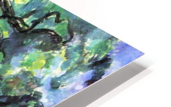 In the Woods by Cezanne HD Sublimation Metal print