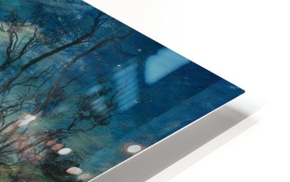Moonlight in Beaulieu HD Sublimation Metal print