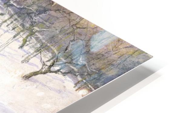 Snowy landscape Impression de sublimation métal HD