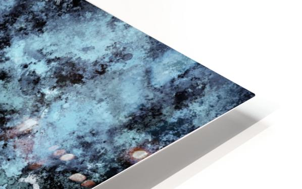 Hiding the eyes HD Sublimation Metal print