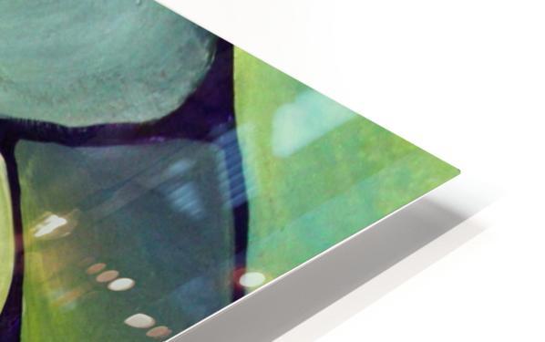 Art Deco_Green _Pattern_displate HD Sublimation Metal print