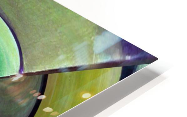 Art Deco_Green _Pattern_A HD Sublimation Metal print