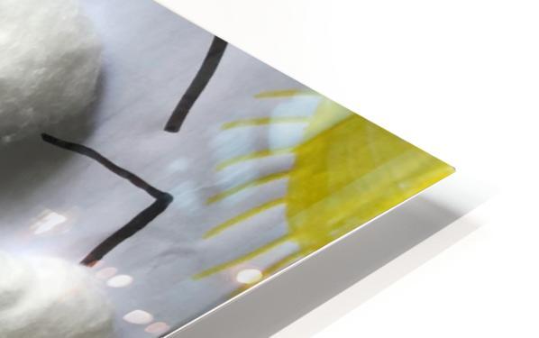 Nola rainbow HD Sublimation Metal print