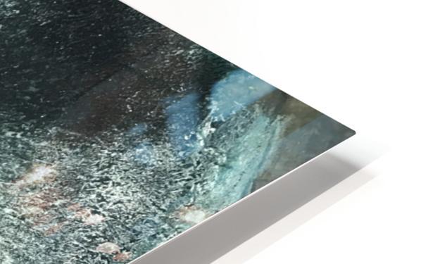 Crystal Midnights in Indigo HD Sublimation Metal print