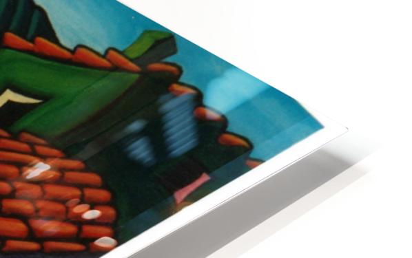 Rooftop Roamers HD Sublimation Metal print