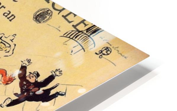 La vache enragee by Toulouse-Lautrec HD Sublimation Metal print