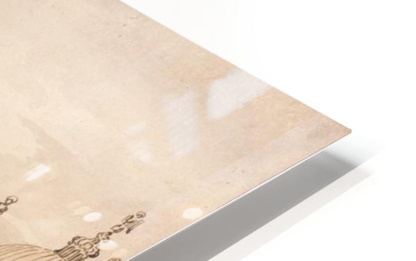 Capriccio of a Venetian Courtyard HD Sublimation Metal print