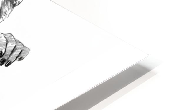 Selena Gomez - Celebrity Pencil Art Impression de sublimation métal HD