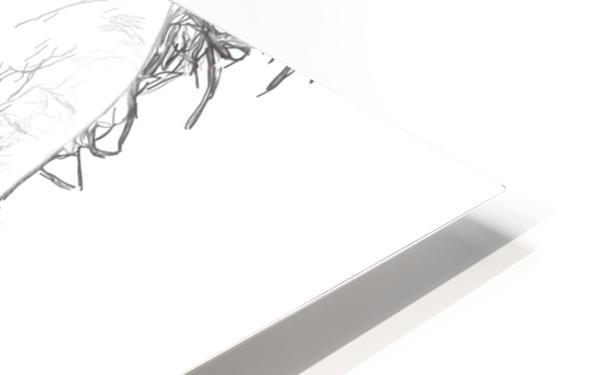 Robert Downy Jr. - Celebrity Pencil Art Impression de sublimation métal HD