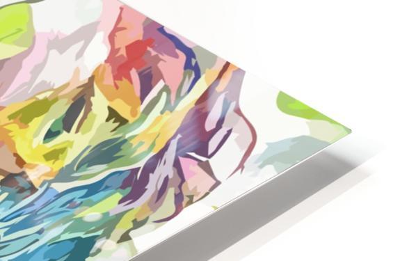 Chris Pratt - Celebrity Abstract Art Impression de sublimation métal HD