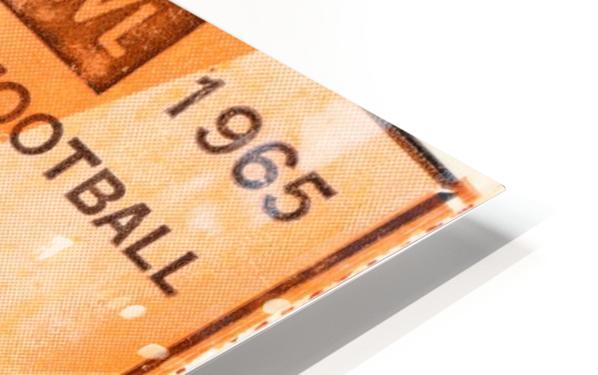 1965 texas longhorns smu mustangs college football HD Sublimation Metal print