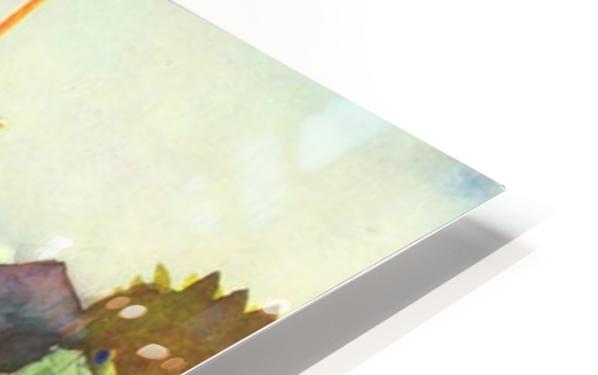 Landscape at Hammamet by Macke HD Sublimation Metal print
