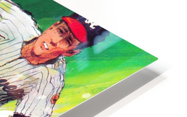 1969 atlanta braves art HD Sublimation Metal print