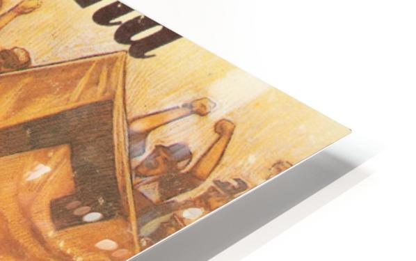 vintage cleveland browns nfl art poster HD Sublimation Metal print
