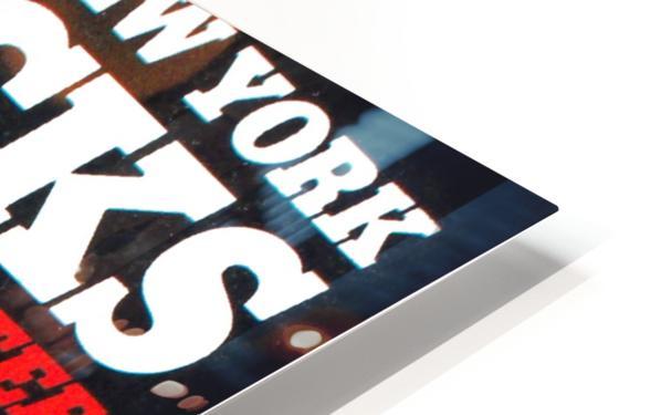 1980 new york knicks poster bill cartwright cedric maxwell HD Sublimation Metal print