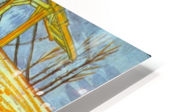Langlois by Van Gogh HD Sublimation Metal print