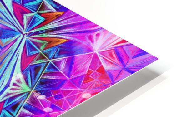 Sacred Geometry Mandala Handdrawing HD Sublimation Metal print