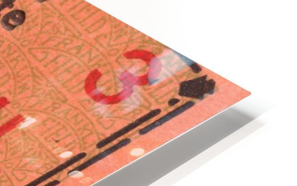 game room decor ideas 1929 pennsylvania penn state ticket canvas HD Sublimation Metal print